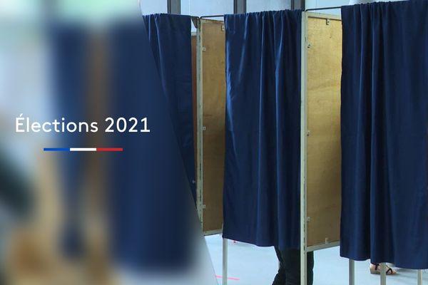 Jour de vote en Nouvelle-Aquitaine pour les élections départementales et régionales.