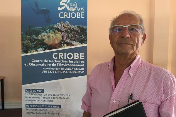 Bernard Salvat fondateur du Criobe