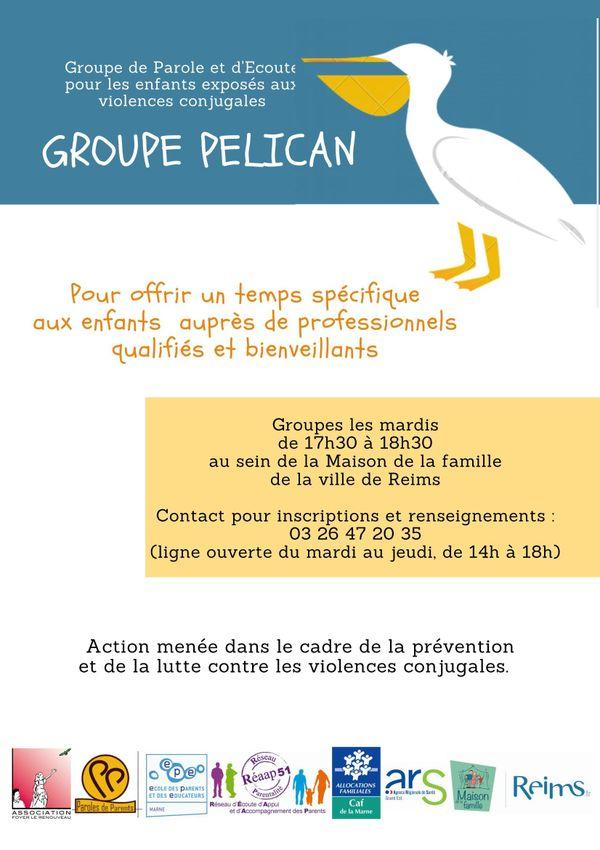 Coordonnées du groupe pélican