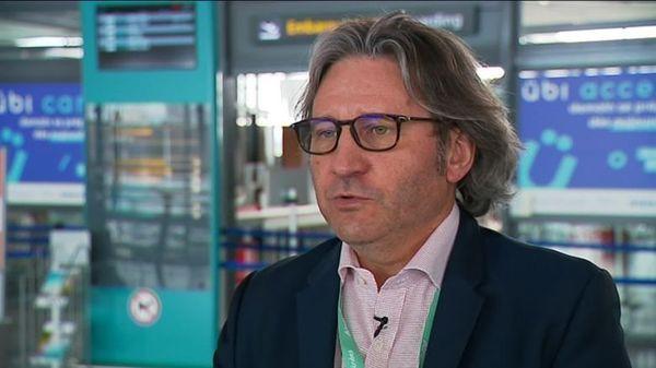 Thierry Souchet, directeur de l'aéroport de Pau-Pyrénées