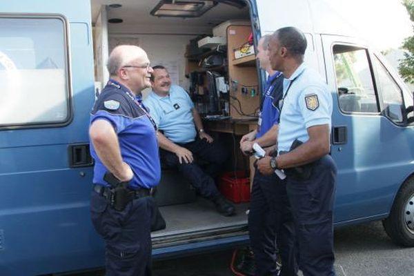 Les deux gendarmes suisses venus en renfort aux Eurockéennes