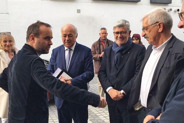 Lundi 28 octobre 2019 : Sébastien Lecornu à la rencontre des maires de l'Eure
