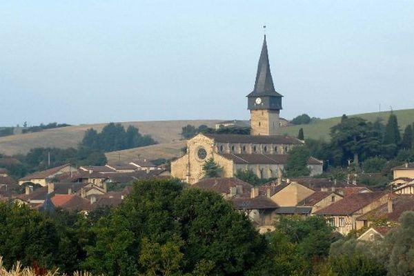Village de Barran dans le Gers