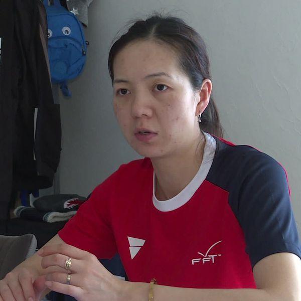 Jia Nan Yuan, pongiste
