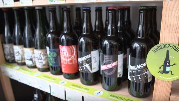 Les bouteilles consignées doivent être adaptées aux standards des machines de lavage.