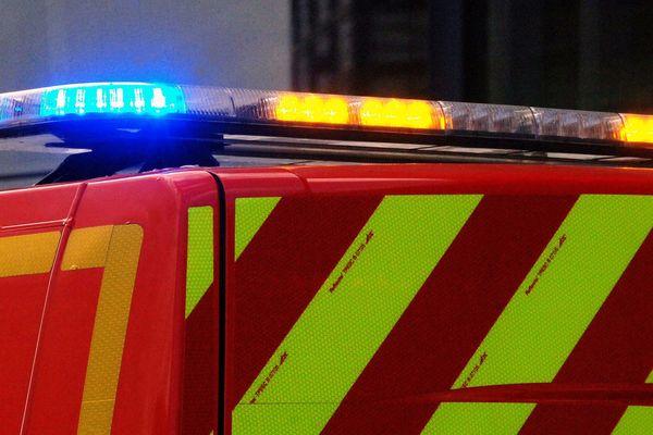 Selon les pompiers, 5 véhicules sont impliqués (illustration).