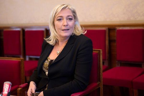 Marine Le Pen, le 4 décembre 2012.