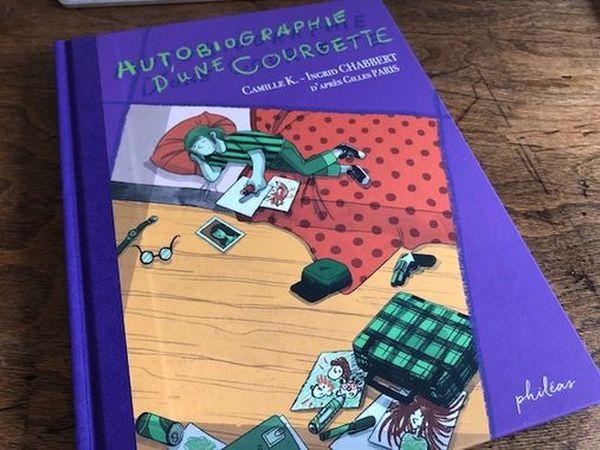 """La couverture de la BD """"Autobiographie d'une Courgette"""" adaptée du best-seller de Gilles Paris"""