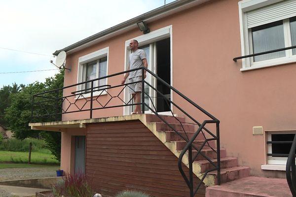 Cédric Harry est riverain du futur parc photovoltaïque de Saint-Mars-La-Brière, en Sarthe