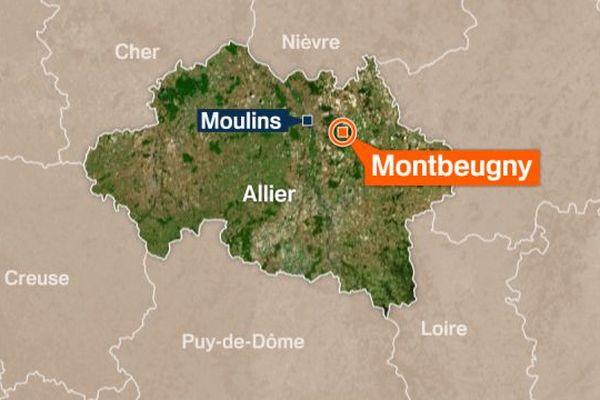 Un accident a eu lieu à Montbeugny dans l'Allier sur la RCEA. Une personne a été gravement blessée.