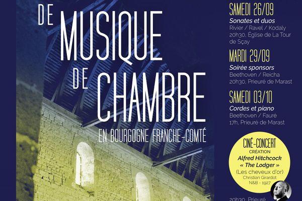 Initialement prévue au début de l'été, cette édition offre un mélange de découvertes et de chefs-d'oeuvre du répertoire.