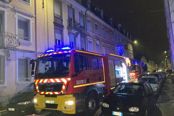 Les pompiers sont arrivés sur place peu après 4h du matin ce 1er février