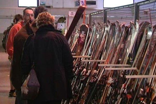 Les bourses aux skis fleurissent en Savoie et ailleurs