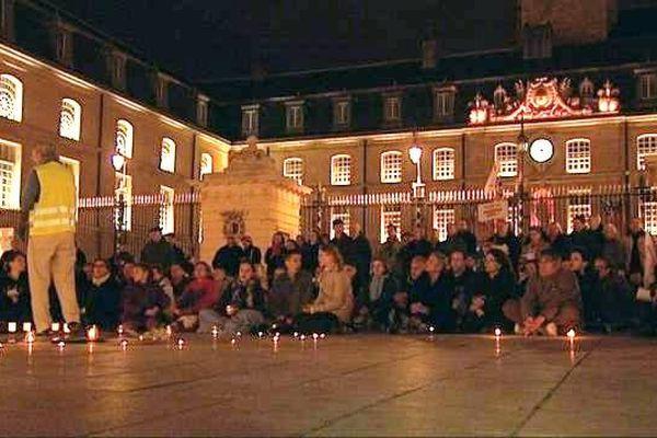 200 personnes ont manifesté à Dijon contre le mariage pour tous.