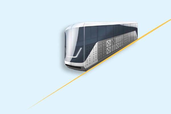 Un nouvel aspect qui doit rappeler celui du tramway de la ville