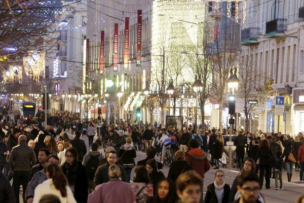 À Nice, on veut que le rush des cadeaux de Noël se fasse dans les boutiques, pas en ligne