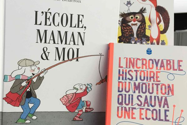 trois livres jeunesse qui racontent des rentrées peu ordinaires