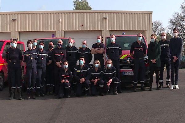 Nîmes : des sapeurs-pompiers du Gard partent en mission d'urgence sanitaire à Mayotte - 23 février 2021.