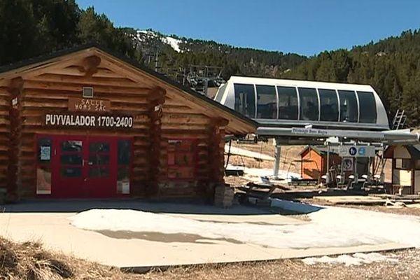 Deux hivers de suite, la station de Puyvalador (Pyrénées-Orientales) est restée à l'arrêt.