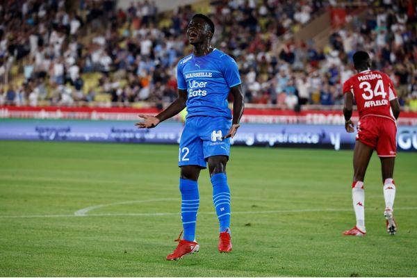 """""""Bambagoal"""", auteur d'un doublé pour sa première titularisation de la saison, a fait le bonheur des supporters olympiens"""