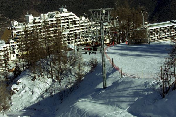La station de Puy Saint Vincent dans les Hautes Alpes.
