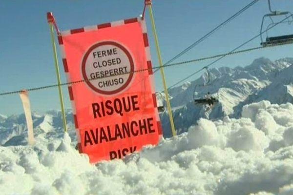Les Pyrénées et le risque d'avalanche
