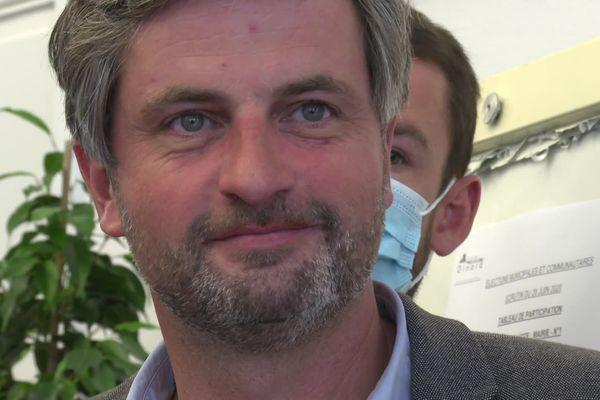 Arnaud Salmon est le patron d'une entreprise de carrelage depuis 17 ans.