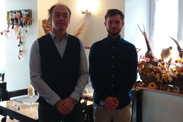 Norbert Guglielmetti et son fils