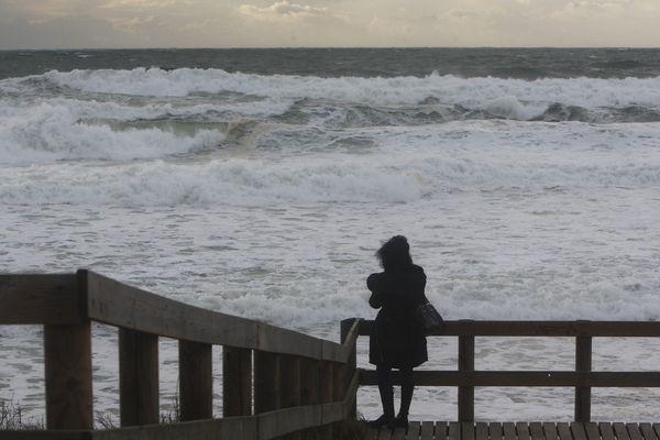 Alerte météo sur la côte atlantique