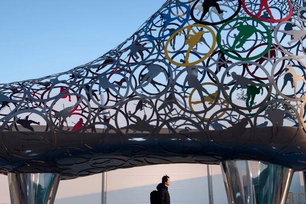 Au village olympique à Gangneung (Corée du sud), le 8 février 2019.