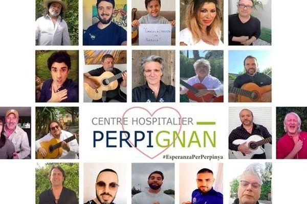 Le comédien et musicien Yvan Le Bolloc'h est à l'origine de l'initiative #EsperanzaPerPerpinya