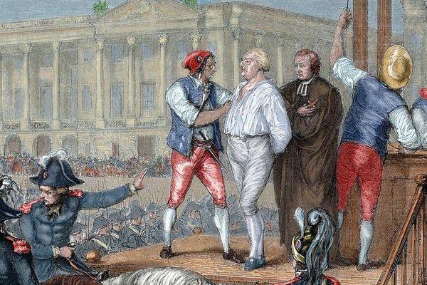 Exécution de Louis XVI, le 21 janvier 1793