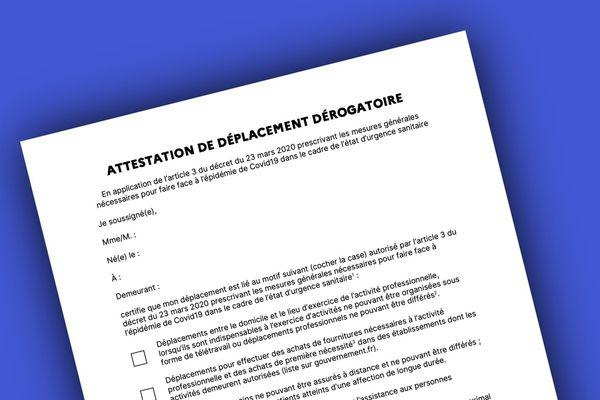 Une nouvelle version du document a été diffusée ce mardi 24 mars.