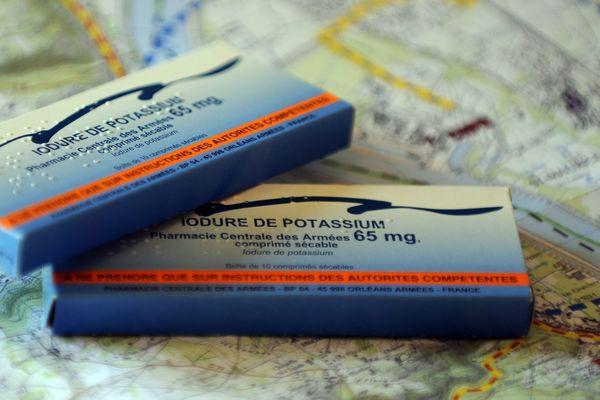 Les comprimés d'iode sont distribués aux habitants autour de la centrale de Civaux.