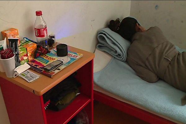 Dans le secteur des femmes au Centre de Rétention Administratif de Cornebarrieu