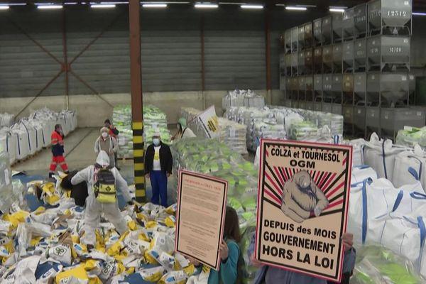 """Les """"Faucheurs d'OGM """" estiment l'Etat hors -la-loi"""