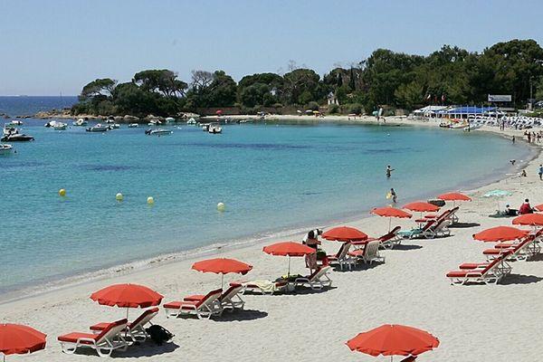 Route des Sanguinaires, plage de Marinella