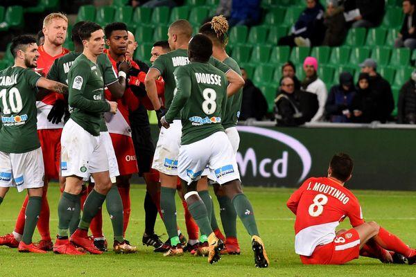 Monaco prend provisoirement la 2è place après sa victoire contre St-Etienne