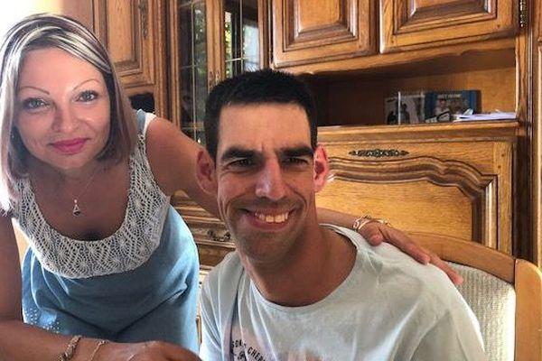 Ludovic et sa sœur Jennifer Hautefeuille.