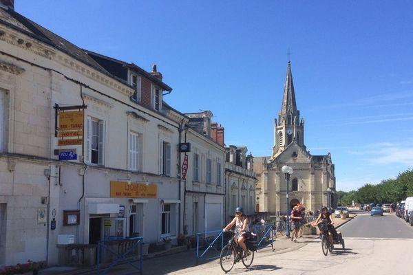 Les cyclistes sont toujours aussi nombreux sur le parcours de la Loire à vélo, en particulier en Indre-et-Loire