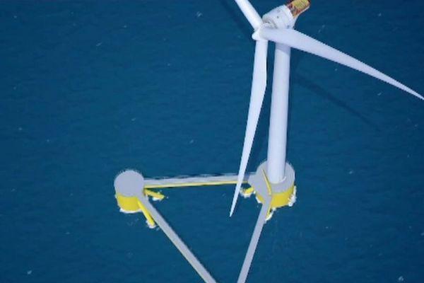 La région a engagé 210 millions d'euros cette année pour l'accueil de la filière éolienne en mer.