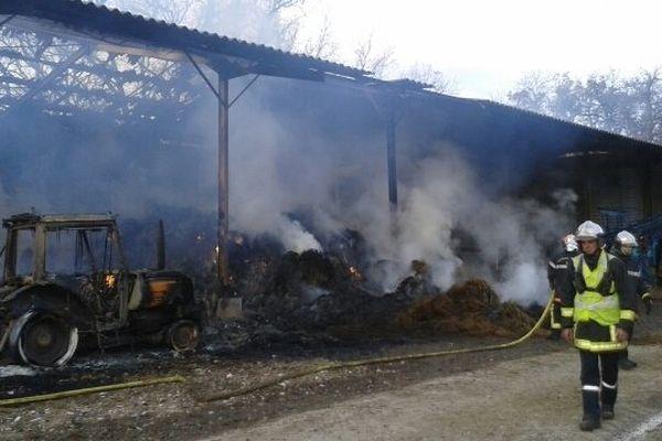 Le deuxième incendie s'est déclaré vers 22 heures