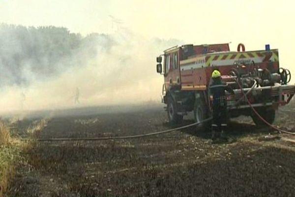 Les sapeurs-pompiers de l'Oise en pleine action