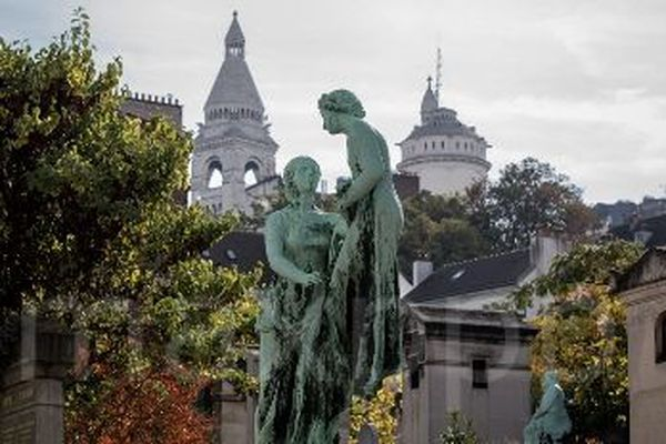 Le cimetière Saint Vincent à Montmartre