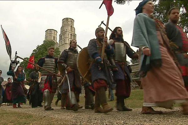 Les Vikings ont envahi l'abbaye de Jumièges