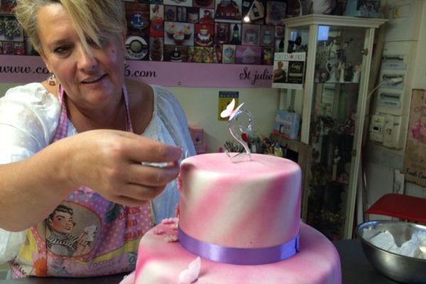 Stéphanie Guérin est cake designer