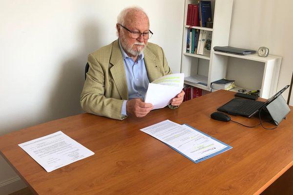Pour Jean-Marc Le Gars, avocat et ancien président du tribunal administratif, ce n'est pas au maire de prendre un arrêté obligeant au port du masque à Nice.