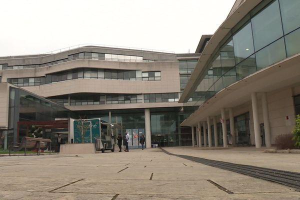 L'hôpital Bretonneau du CHRU de Tours.