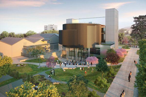 Le futur Centre des sciences de la métropole de Grenoble