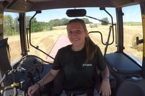 La future agricultrice peut compter sur le soutien des 25 000 personnes abonnées à sa chaîne YouTube.